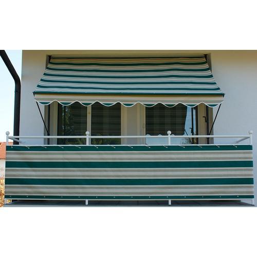 Angerer Freizeitmöbel Balkonsichtschutz Nr. 8700, Meterware, grün/beige, H: 90 cm grün Markisen Garten Balkon