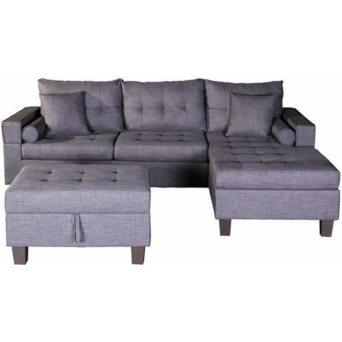 Home Deluxe - Sofa Rom links | Ecksofa, Couch, Sofagarnitur