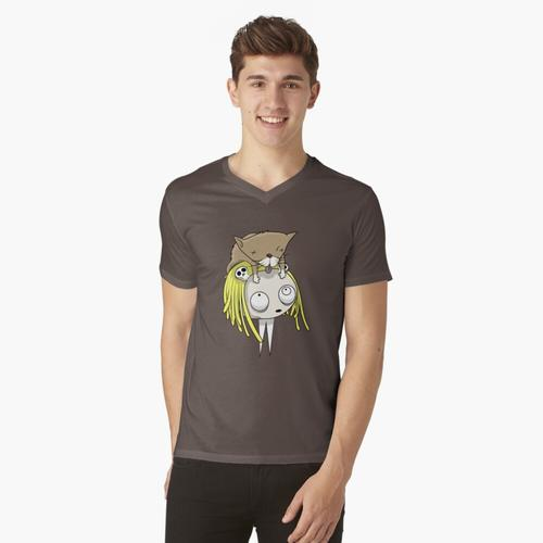 Lenore t-shirt:vneck