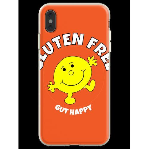 Glutenfreies Gut Happy T-Shirt - Glutenfreies Gut Happy T-Shirt - G Flexible Hülle für iPhone XS Max