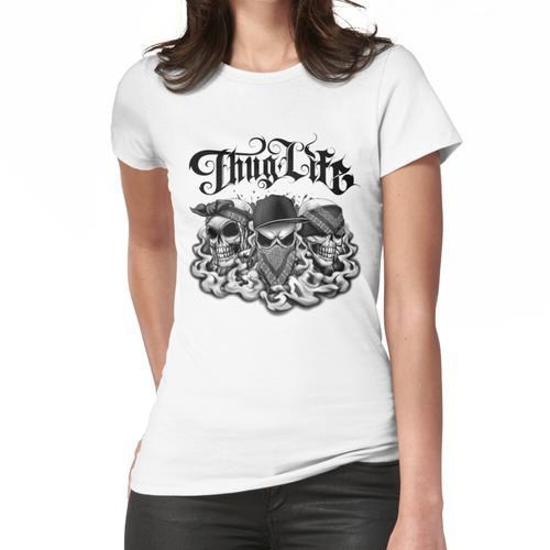 Thuglife Hören No No No Speak No Evil Frauen T-Shirt