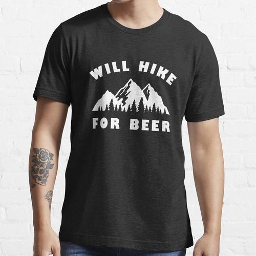 Wird für Bier wandern Essential T-Shirt