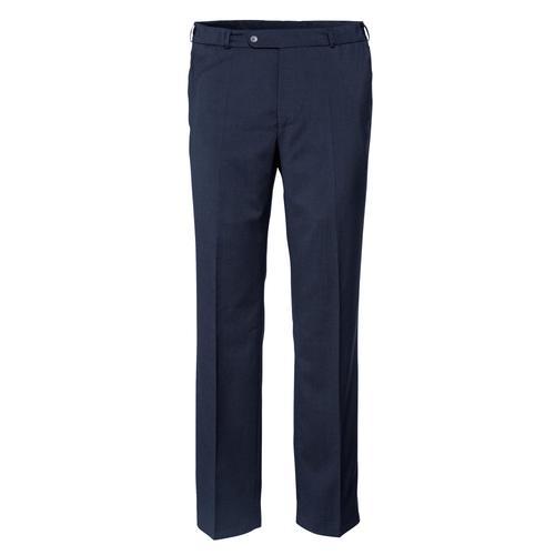 Babista Reisewollhose mit 7 cm mehr Bundweite blau Herren Hosen lang