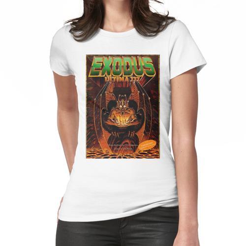 Ultima III-Frontabdeckung Frauen T-Shirt