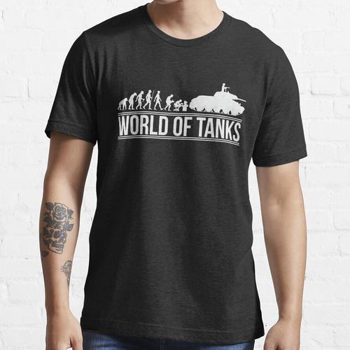 Panzerentwicklung T-34 Panzerwelt Essential T-Shirt