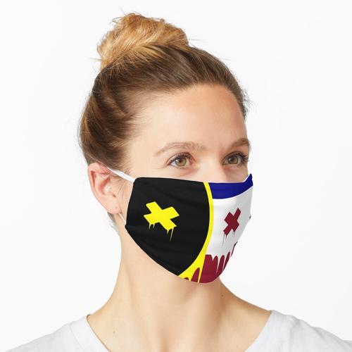 Schmelzflagge Maske