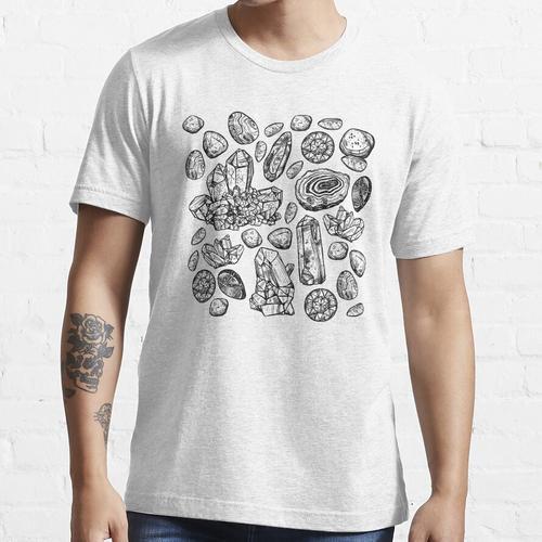 Kristalle und Mineralien Essential T-Shirt