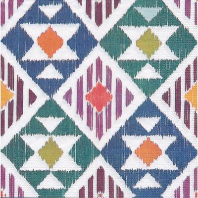 """Serviettes en papier """"ethnique"""", 33 x 33 cm, 20 pièces"""