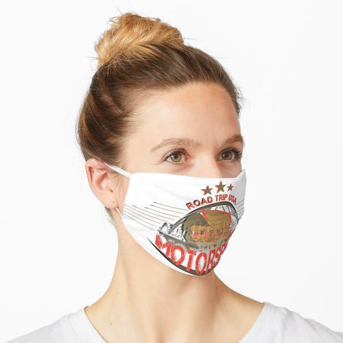 Motorsport Maske