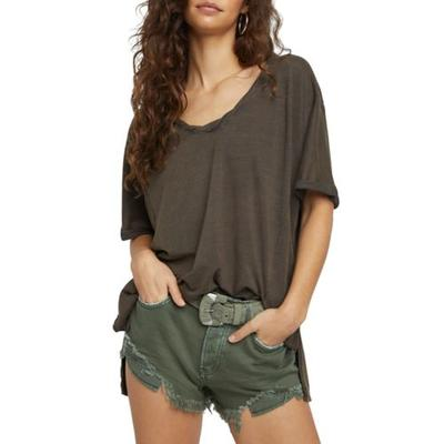 Free People Raven Feather Luna T-Shirt