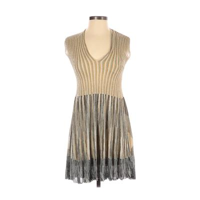 M Missoni Cocktail Dress - A-Line: Gold Dresses - Used - Size 40