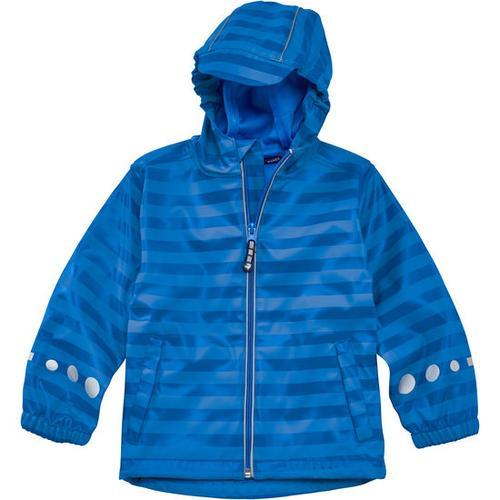 Regenjacke Ringel, blau, Gr. 92/98