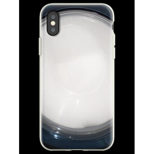 Seifenlauge Flexible Hülle für iPhone XS