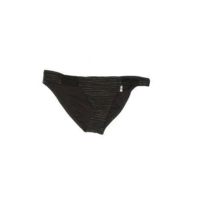 Vitamin A Swimsuit Bottoms: Green Solid Swimwear - Size 6