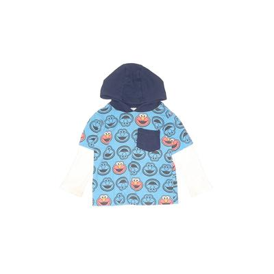 Children's Apparel Network Pullover Hoodie: Blue Tops - Size 2Toddler