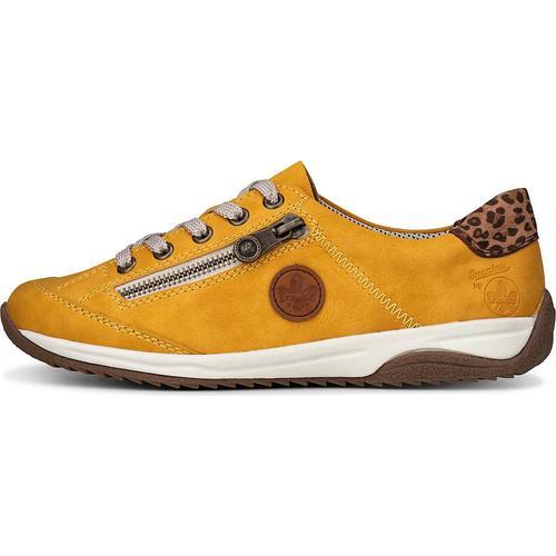Rieker, Sneaker Da-Halbschuhe in gelb, Sneaker für Damen Gr. 37