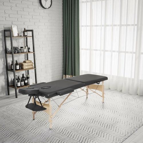 mobile Massageliege, klappbare Therapieliege, Massagebank,tragbares Massagebett, leichter