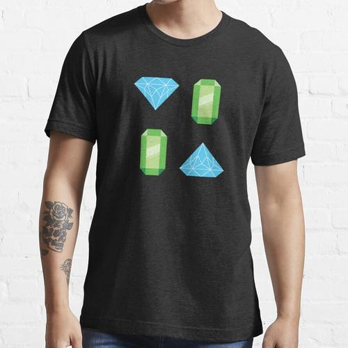 Diamanten und Edelsteine Essential T-Shirt