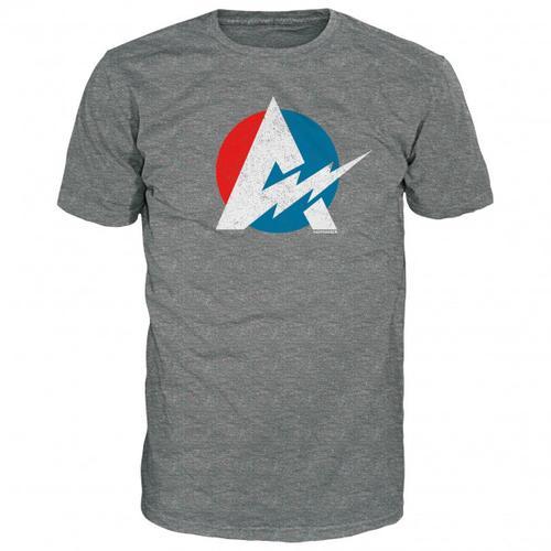 Alprausch - Blitzableiter T-Shirt Gr XL grau