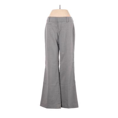 DKNY Dress Pants - Low Rise: Gray Bottoms - Size 0