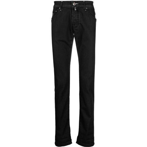 Jacob Cohen Jeans mit Einstecktuch