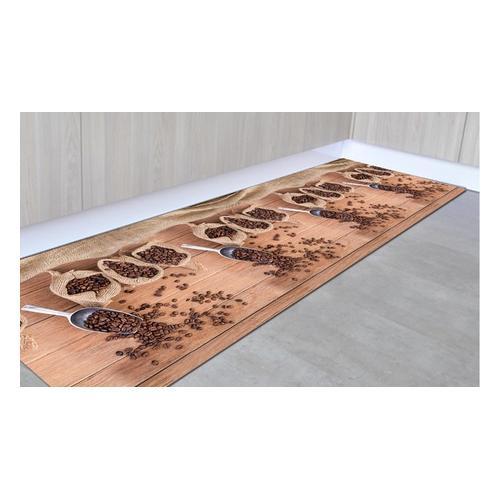 Rutschfester Läufer: Kaffee / 50 x 350 cm