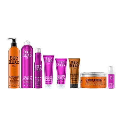 Haarpflege-Produkte: Fully Loaded Shampoo 250 ml + Balsam 200 ml + Schaum 125 ml