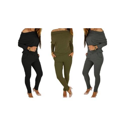 Damen-Jumpsuit: Khaki/Gr. 38-40
