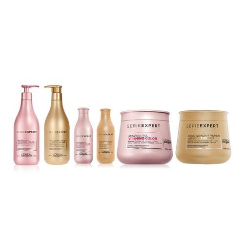 L'Oréal Professionnel: Gold Shampoo + Gold Conditioner