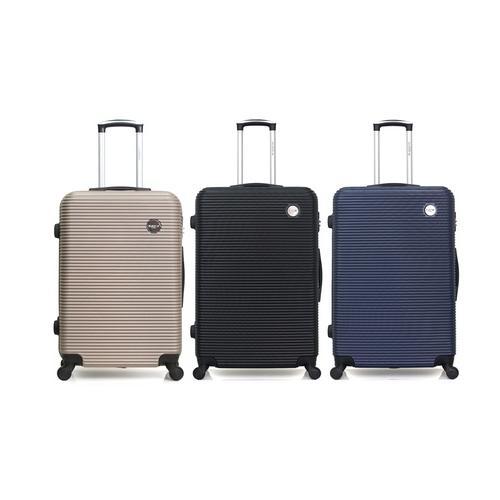 Reisekoffer London: Handgepäck-Koffer/ Grau