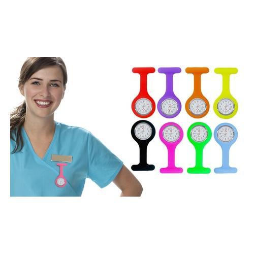 Krankenschwester-Silikon-Uhr: Rosa/ 1