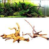 Décoration d'aquarium en bois fl...