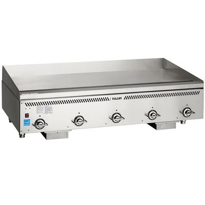 """Vulcan VCCG60-AC 60"""" Gas Griddle w/ Thermostatic Controls - 3/4"""" Steel Plate, Liquid Propane"""