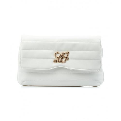 Liu Jo Damen XL Clutch Weiß