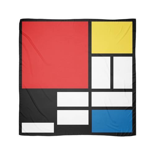 Mein Mondrian Tuch