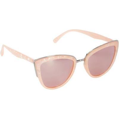 Steve Madden Womens Pale Pink Cateye Sunglasses