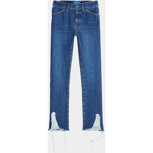 MiH Jeans Mid Rise Jeans mit ausgefransten Säumen