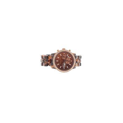Michael Kors Watch: Brown Solid Accessories