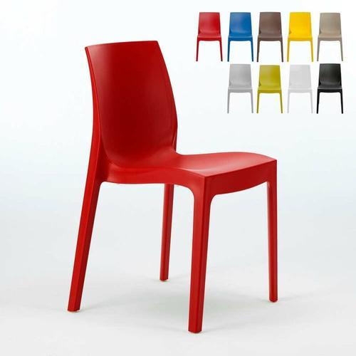 Stühle Küchenstuhl Esstischstuhl Esszimmerstuhl Rome | Rot - Grand Soleil