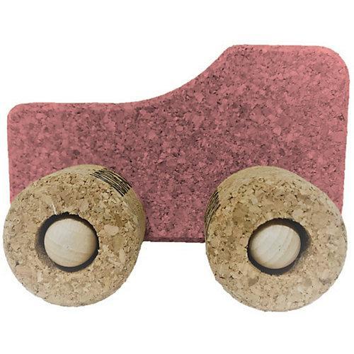 Spielzeugauto Kork Traktor, rosa