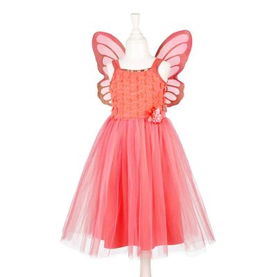 Souza - Coral Jorianne Fairy Dress with Wings from 3 to 4 Years - 3-4 years