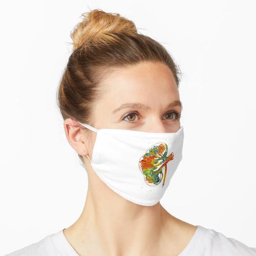 Nierenschnitt Maske