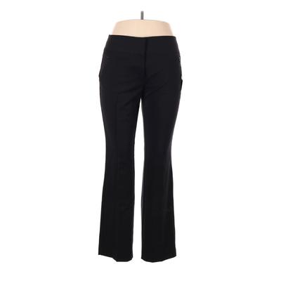 Maurices Dress Pants - High Rise: Black Bottoms - Size 11