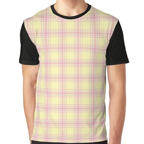 Shy - mein kleines Plaid Grafik T-Shirt