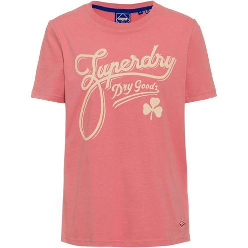 Superdry Workwear T-Shirt Damen in dusty rose, Größe L