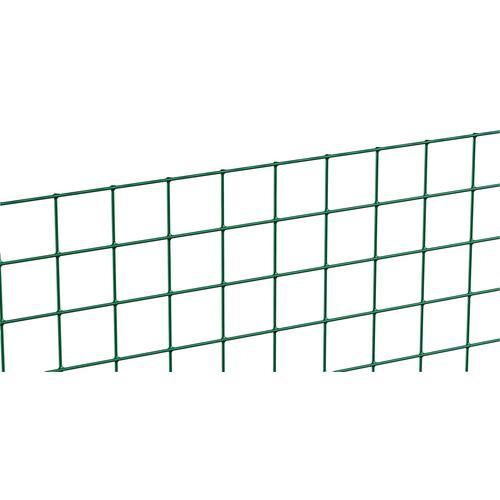 GAH Alberts Schweissgitter, 50 cm hoch, 5 m, grün beschichtet Zaunelemente Zäune Garten Balkon Schweissgitter