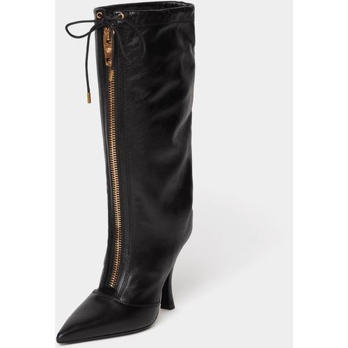 Versace Stiefel mit Reißverschluss