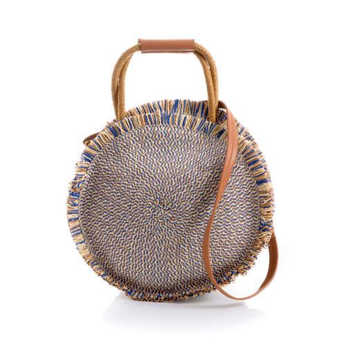 Tasche Collezione Alessandro blau/natur