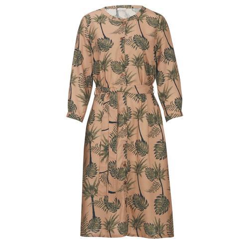 Kleid Alba Moda Karamell::Khaki