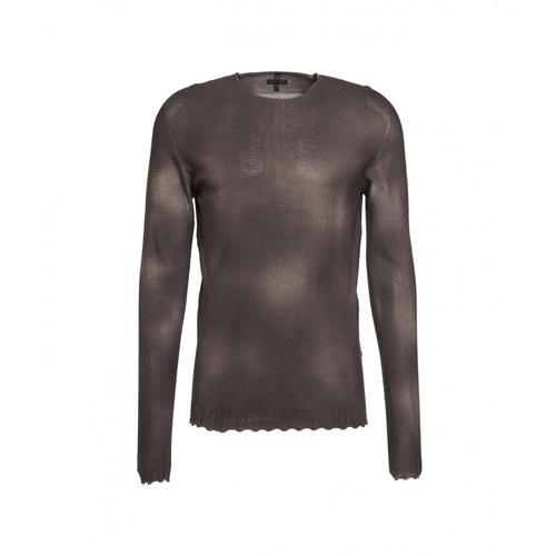 MD75 Herren Spray Sweater Braun